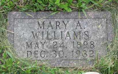 WILLIAMS, MARY A. - Charles Mix County, South Dakota | MARY A. WILLIAMS - South Dakota Gravestone Photos