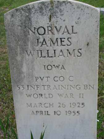 WILLIAMS, NORVAL JAMES - Charles Mix County, South Dakota | NORVAL JAMES WILLIAMS - South Dakota Gravestone Photos