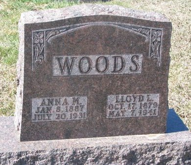 WOODS, ANNA MAZZOLA - Charles Mix County, South Dakota | ANNA MAZZOLA WOODS - South Dakota Gravestone Photos