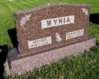 WYNIA, FRANCES - Charles Mix County, South Dakota | FRANCES WYNIA - South Dakota Gravestone Photos