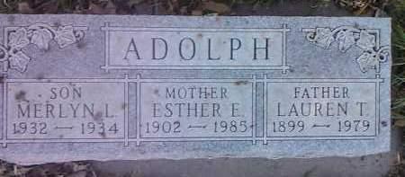 ADOLPH, LAUREN I. - Clark County, South Dakota | LAUREN I. ADOLPH - South Dakota Gravestone Photos