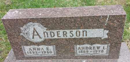 ANDERSON, ANDREW L - Clark County, South Dakota | ANDREW L ANDERSON - South Dakota Gravestone Photos