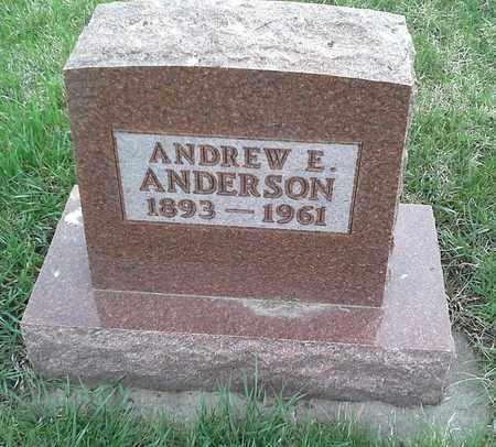 ANDERSON, ANDREW E - Clark County, South Dakota   ANDREW E ANDERSON - South Dakota Gravestone Photos