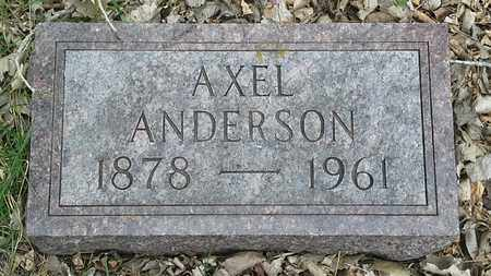 ANDERSON, AXLE - Clark County, South Dakota | AXLE ANDERSON - South Dakota Gravestone Photos