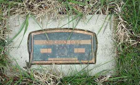 ANDERSON, BABY - Clark County, South Dakota | BABY ANDERSON - South Dakota Gravestone Photos