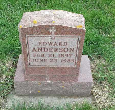 ANDERSON, EDWARD - Clark County, South Dakota   EDWARD ANDERSON - South Dakota Gravestone Photos