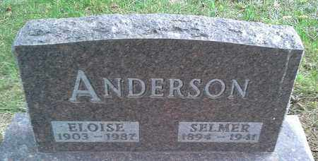 ANDERSON, ELOISE - Clark County, South Dakota | ELOISE ANDERSON - South Dakota Gravestone Photos