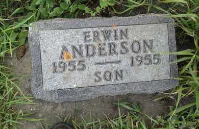 ANDERSON, ERWIN - Clark County, South Dakota | ERWIN ANDERSON - South Dakota Gravestone Photos