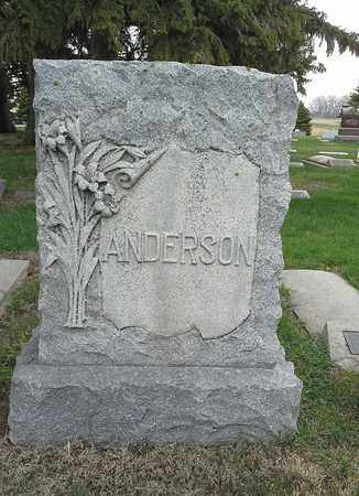 ANDERSON, FAMILY STONE - Clark County, South Dakota   FAMILY STONE ANDERSON - South Dakota Gravestone Photos