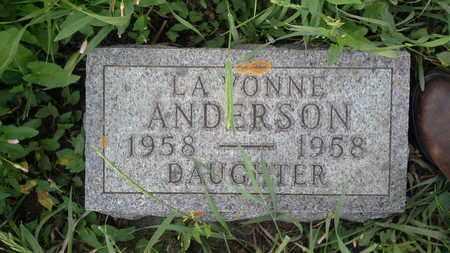 ANDERSON, LAVONNE - Clark County, South Dakota | LAVONNE ANDERSON - South Dakota Gravestone Photos
