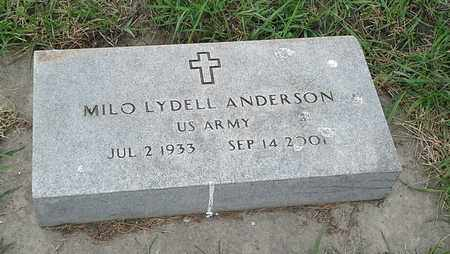 "ANDERSON, MILO LYDELL ""MILITARY"" - Clark County, South Dakota   MILO LYDELL ""MILITARY"" ANDERSON - South Dakota Gravestone Photos"
