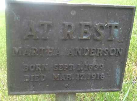 ANDERSON, MARTHA - Clark County, South Dakota | MARTHA ANDERSON - South Dakota Gravestone Photos
