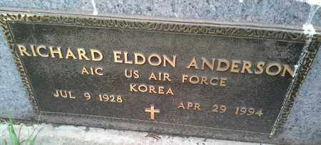 "ANDERSON, RICHARD ELDON ""MILITARY"" - Clark County, South Dakota | RICHARD ELDON ""MILITARY"" ANDERSON - South Dakota Gravestone Photos"