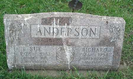 ANDERSON, RICHARD - Clark County, South Dakota | RICHARD ANDERSON - South Dakota Gravestone Photos