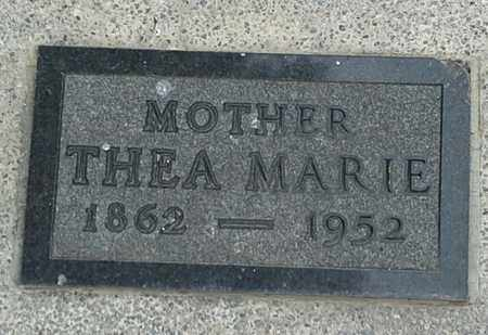 ANDERSON, THEA MARIE - Clark County, South Dakota | THEA MARIE ANDERSON - South Dakota Gravestone Photos