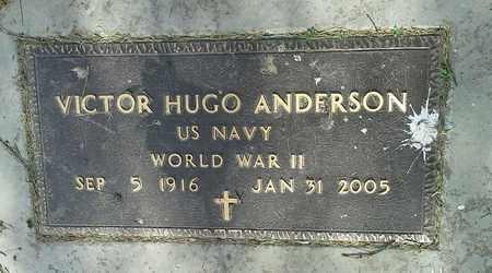 "ANDERSON, VICTOR HUGO ""MILITARY"" - Clark County, South Dakota | VICTOR HUGO ""MILITARY"" ANDERSON - South Dakota Gravestone Photos"