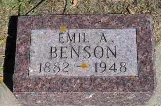 BENSON, EMIL A. - Clark County, South Dakota   EMIL A. BENSON - South Dakota Gravestone Photos