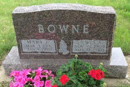 BOWNE, LEWIS S. - Clark County, South Dakota | LEWIS S. BOWNE - South Dakota Gravestone Photos