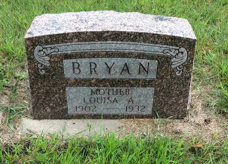 BRYAN, LOUISA A. - Clark County, South Dakota | LOUISA A. BRYAN - South Dakota Gravestone Photos
