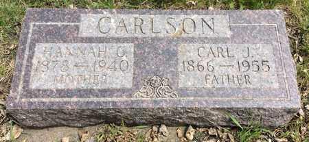 CARLSON, HANNA C. - Clark County, South Dakota   HANNA C. CARLSON - South Dakota Gravestone Photos