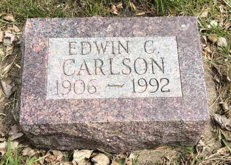 CARLSON, EDWIN C. - Clark County, South Dakota   EDWIN C. CARLSON - South Dakota Gravestone Photos