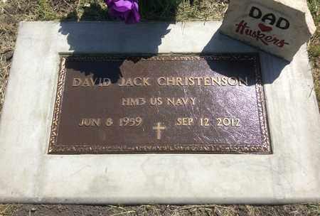 CHRISTENSEN, DAVID JACK - Clark County, South Dakota   DAVID JACK CHRISTENSEN - South Dakota Gravestone Photos