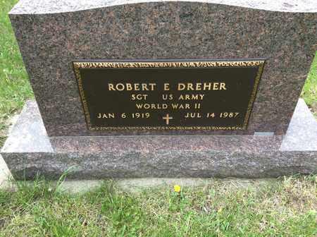 DREHER, ROBERT E. (MILITARY) - Clark County, South Dakota   ROBERT E. (MILITARY) DREHER - South Dakota Gravestone Photos