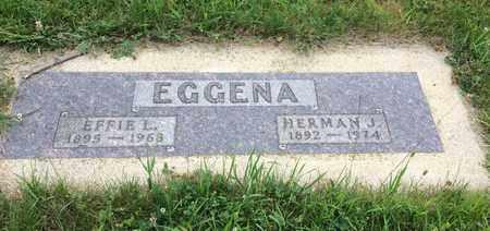 EGGENA, HERMAN J. - Clark County, South Dakota   HERMAN J. EGGENA - South Dakota Gravestone Photos
