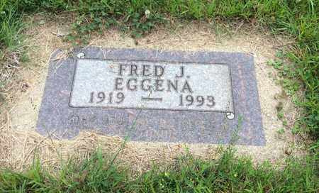 EGGENA, FRED J. - Clark County, South Dakota | FRED J. EGGENA - South Dakota Gravestone Photos