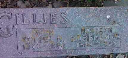 GILLIES, REGINALD W. - Clark County, South Dakota | REGINALD W. GILLIES - South Dakota Gravestone Photos