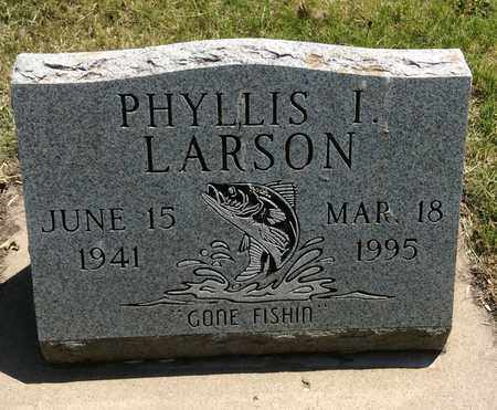 LARSON, PHYLLIS I. - Clark County, South Dakota | PHYLLIS I. LARSON - South Dakota Gravestone Photos