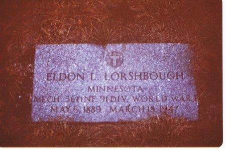 LORSHBOUGH, ELDON - Clark County, South Dakota   ELDON LORSHBOUGH - South Dakota Gravestone Photos