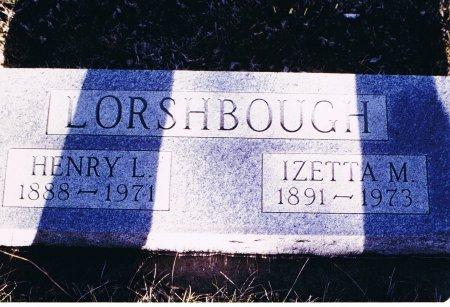 LORSHBOUGH, HENRY L. - Clark County, South Dakota | HENRY L. LORSHBOUGH - South Dakota Gravestone Photos