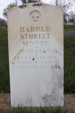 MOORE, HAROLD KIMBELL - Clark County, South Dakota | HAROLD KIMBELL MOORE - South Dakota Gravestone Photos