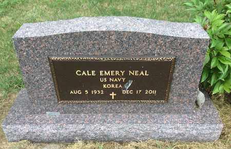 NEAL, CALE EMERY (MILITARY) - Clark County, South Dakota   CALE EMERY (MILITARY) NEAL - South Dakota Gravestone Photos