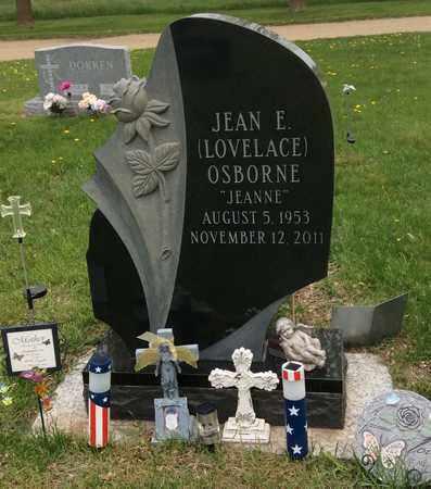 LOVELACE OSBORNE, JEAN E. - Clark County, South Dakota   JEAN E. LOVELACE OSBORNE - South Dakota Gravestone Photos