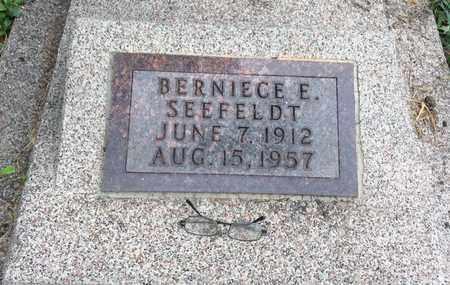 SEEFELDT, BERNICE E. - Clark County, South Dakota | BERNICE E. SEEFELDT - South Dakota Gravestone Photos