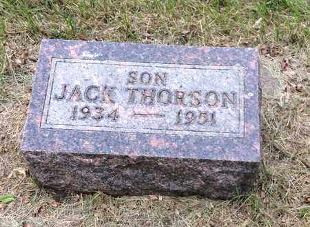 THORSON, JACK - Clark County, South Dakota | JACK THORSON - South Dakota Gravestone Photos