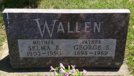 WALLEN, SELMA B. - Clark County, South Dakota   SELMA B. WALLEN - South Dakota Gravestone Photos