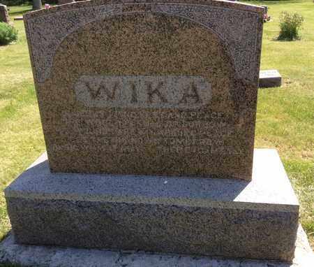 WIKA, FAMILY STONE (MARTINES & RANCHILD) - Clark County, South Dakota   FAMILY STONE (MARTINES & RANCHILD) WIKA - South Dakota Gravestone Photos