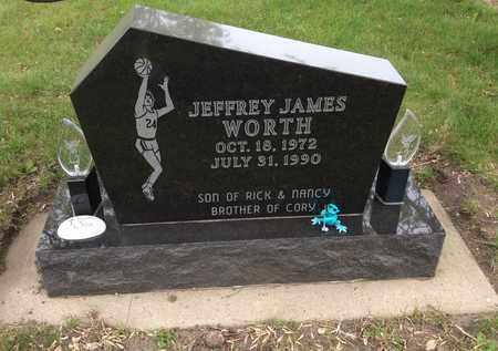 WORTH, JEFFREY JAMES - Clark County, South Dakota | JEFFREY JAMES WORTH - South Dakota Gravestone Photos