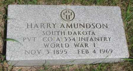 AMUNDSON, HARRY - Clay County, South Dakota | HARRY AMUNDSON - South Dakota Gravestone Photos