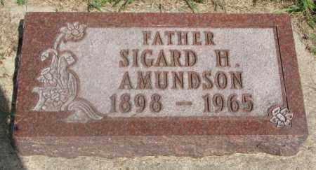 AMUNDSON, SIGARD H. - Clay County, South Dakota | SIGARD H. AMUNDSON - South Dakota Gravestone Photos