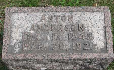 ANDERSON, ANTON - Clay County, South Dakota   ANTON ANDERSON - South Dakota Gravestone Photos