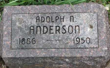 ANDERSON, ADOLPH N. - Clay County, South Dakota | ADOLPH N. ANDERSON - South Dakota Gravestone Photos