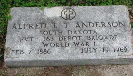 ANDERSON, ALFRED L.T. - Clay County, South Dakota | ALFRED L.T. ANDERSON - South Dakota Gravestone Photos