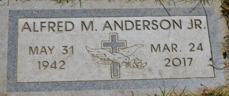 ANDERSON, ALFRED M.  JR. - Clay County, South Dakota | ALFRED M.  JR. ANDERSON - South Dakota Gravestone Photos