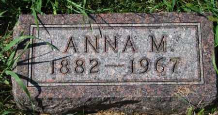 ANDERSON, ANNA M. - Clay County, South Dakota | ANNA M. ANDERSON - South Dakota Gravestone Photos