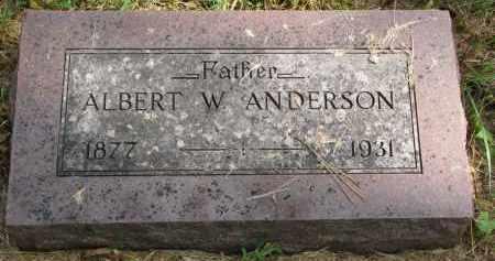 ANDERSON, ALBERT W. - Clay County, South Dakota   ALBERT W. ANDERSON - South Dakota Gravestone Photos