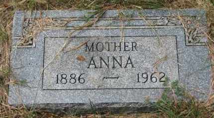 ANDERSON, ANNA - Clay County, South Dakota | ANNA ANDERSON - South Dakota Gravestone Photos